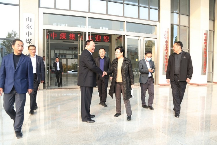 Warmly Welcome The Leaders Of China Labor And Social Security Newspaper To Visit China Coal Group